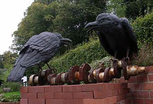 Two Crows on a Crankshaft